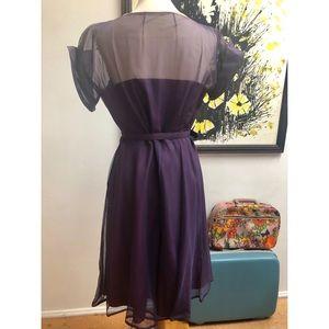 Vintage Dresses - Deep Purple Vintage Dress